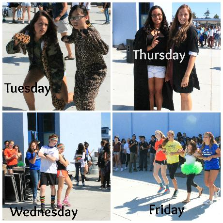 Show Your Spirit: Homecoming Dress Days